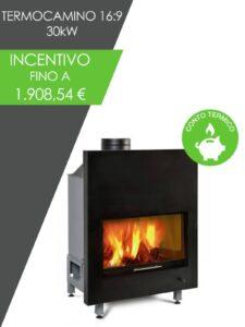 Conto Termico Risparmio fino a quasi 2000 EUR sull'acquisto di questo termocamino